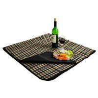 Picnic at Ascot Outdoor Picnic Blanket with Waterproof Backing -London Plaid
