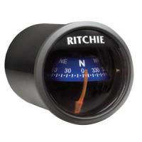 Ritchie X-21BU Compass - Dash Mount - Black/Blue
