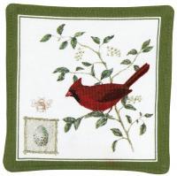 Alice's Cottage Cardinal Single Mug Mat