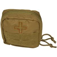 Red Rock Gear Soldier Individual First Aid Kit, Coyote
