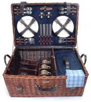Picnic & Beyond Riviera Collection 4 Person Picnic Basket