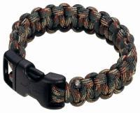 "Boker 8"" Survival Bracelet Woodland Camo"