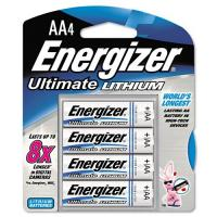 Energizer E2 Lithium AA Batteries, 4 Pack