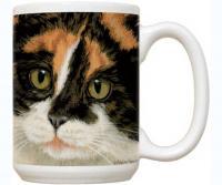 Fiddler's Elbow Calico Cat 15 oz Mug