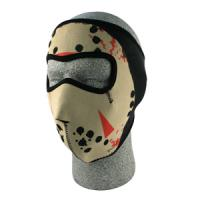 Cold Weather Headwear Neoprene Face Mask, Glow in the Dark, Jason Mask