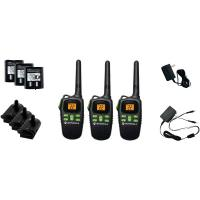 Motorola MD200TPR 20-Mile Talkabout 2-Way Radio Triple Pack with Accessories