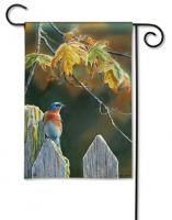 Magnet Works Garden Gate BlueBird Garden Flag