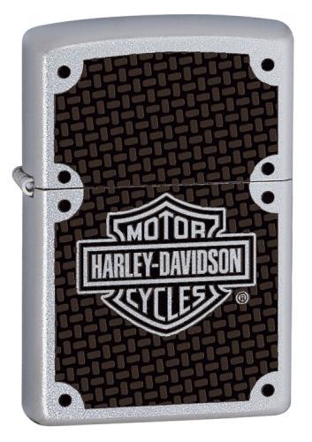 Zippo Harley Carbon Fiber 24025