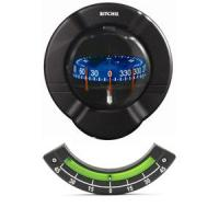 Ritchie SR-2 Venture Bulkhead Mount Sail Boat Compass w/Clinometer - Black