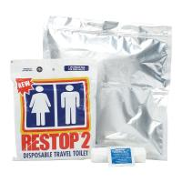 Restop 2  Solid & Liquid Waste Bags, Case of 100