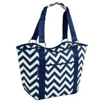 Picnic at Ascot Large Scoop Top Cooler Tote
