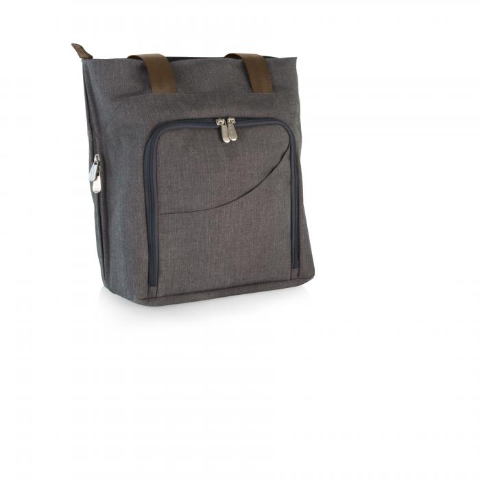 Picnic Time Sonoma Wine and Cheese Tote For Two (Gray)