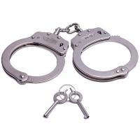 Chain Handcuff, Nickel Plated, Stainless Steel