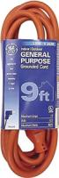GE JASHEP51927 Indoor/Outdoor Extension Cord (9 Ft)