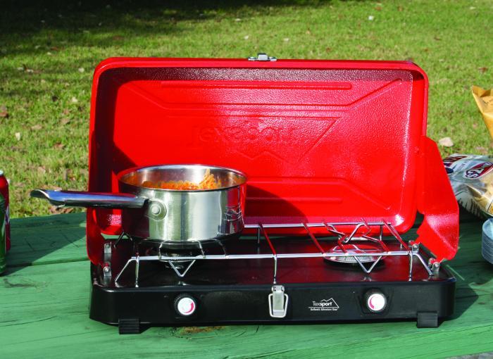 Texsport Compact Dual Burner Propane Stove