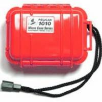 """Pelican Products Micro Case Solid, Red, 5.44"""" x 4.06"""" x 2.13"""""""