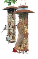 Perky Pet Squirrel-Be-Gone Tube Bird Feeder