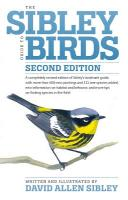 Random House Sibley Guide to Birds Second Edition