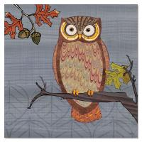 Tree Free Greetings Awesome Owls II Magnet