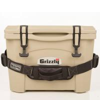 Grizzly 15 Quart RotoMolded Cooler, Tan