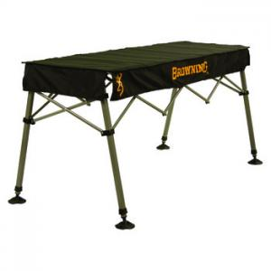 Browning Camping Outfitter Table, Black