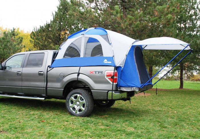 Napier Outdoors Truck Tent lll-  Compact Short Bed, 6 FT.