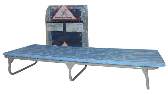 Blantex XB-22 Camo LowBoy Folding Cot with Mat
