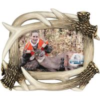 """Rivers Edge Products 4""""x6"""" Antler Picture Frame"""