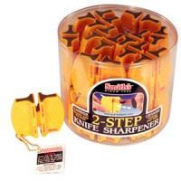 Smith's Sharpener Two-Step Knife Sharpener, Carbide and Ceramic, 24 Units