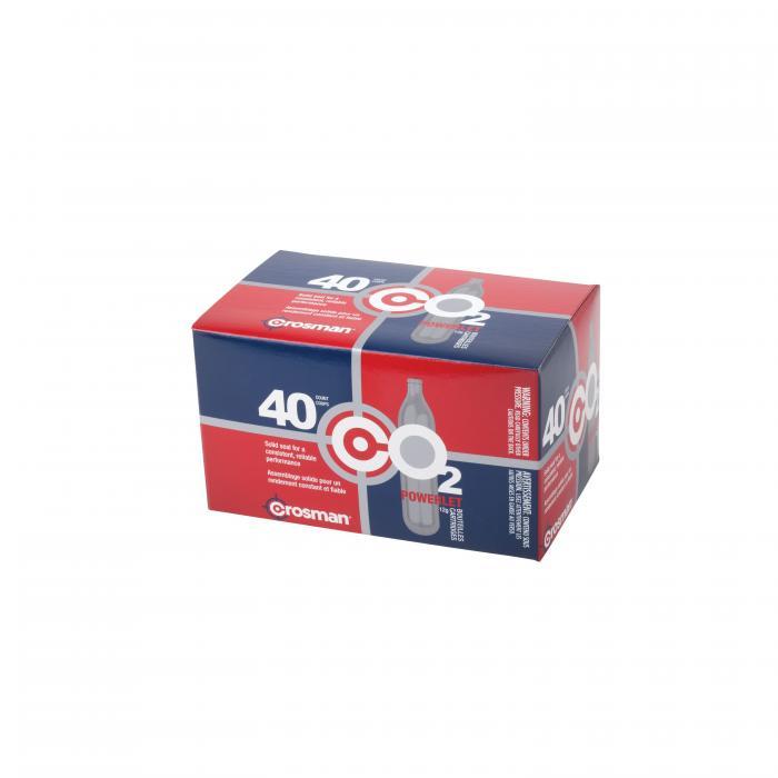 Powerlet Cartridges -12 Gram - 40 Count