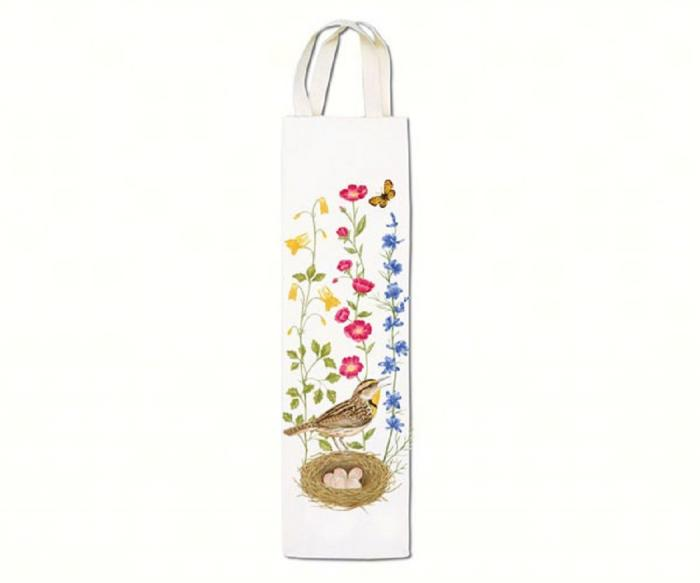 Alice's Cottage Meadowlark Wine Caddy