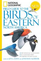 Random House National  Geographic Field Guide to the Birds of Eastern N. America