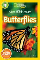 Random House Nat Geo Readers Great Migrations Butterflies