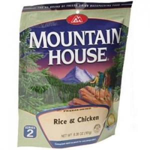 Mountain House Rice & Chicken - Serves 2