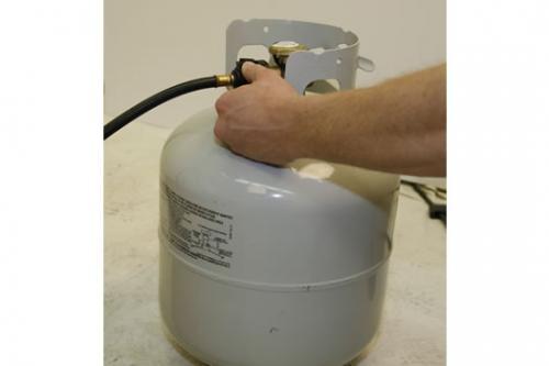 Camp Chef Disposable Bottle Regulator Bulk Tank Hose Adapter