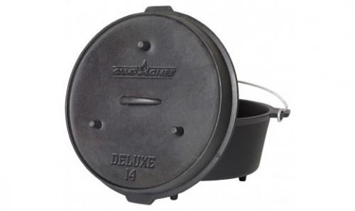 "Camp Chef 14"" Seasoned Cast Iron Dutch Oven"