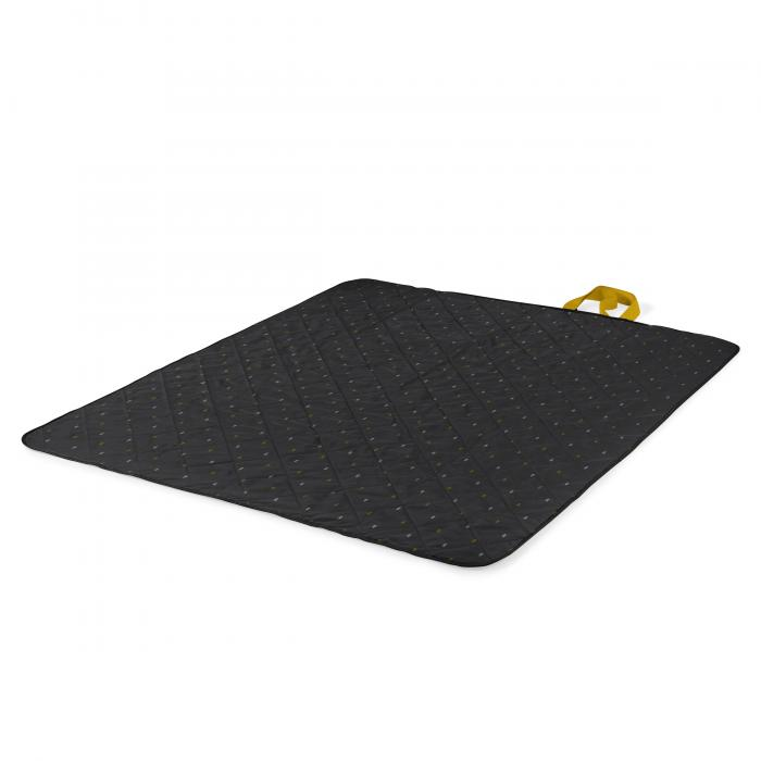 Picnic Time Vista Outdoor Blanket - Anthology or Gray/Mustard Yellow