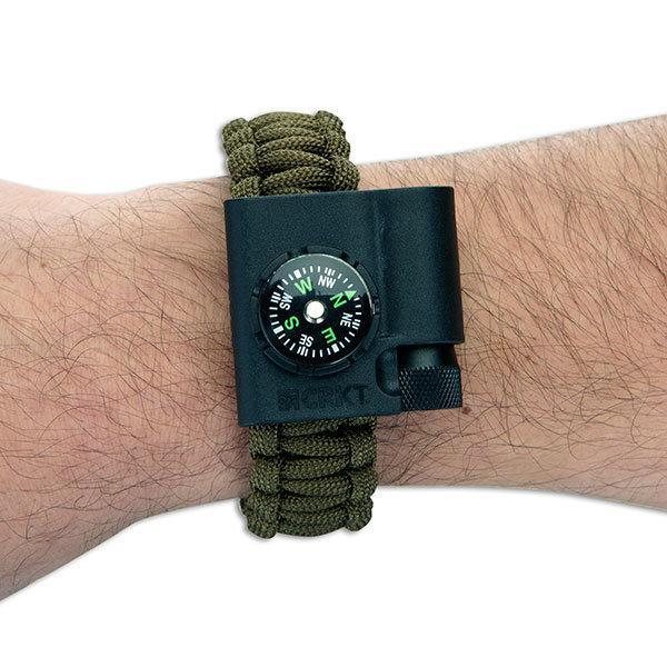 Columbia River (CRKT) Paracord Survival Bracelet Accessory, Compass & LED