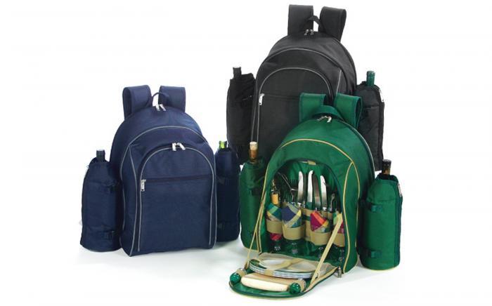 Picnic Plus Stratton 4 Person Backpack, Black