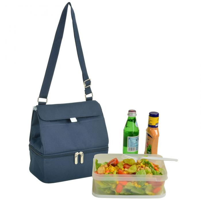 Picnic at Ascot Fashion Insulated Lunch Bag - Navy